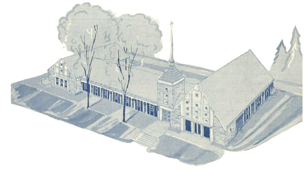 Original Sketch of the Reformed Presbyterian Church of the North Hills